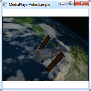 Showing a simple video using the MediaElement