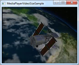 Wpf media player example.