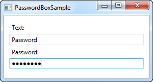 The PasswordBox control - The complete WPF tutorial