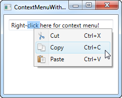 The WPF ContextMenu - The complete WPF tutorial