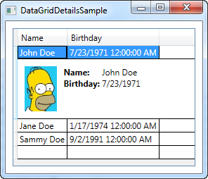 Editable datagrid wpf example.