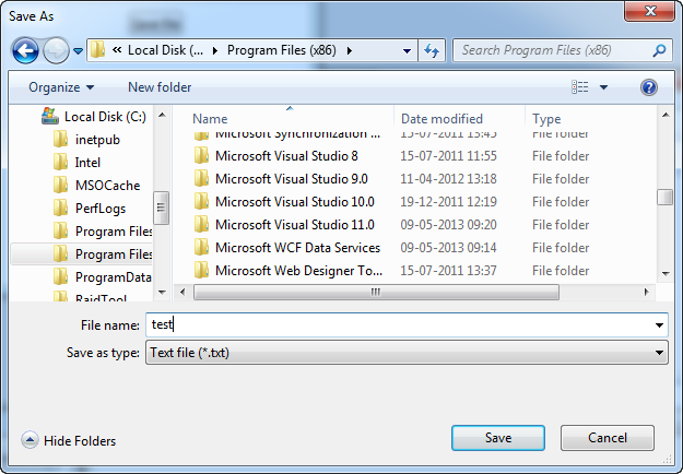 The SaveFileDialog - The complete WPF tutorial