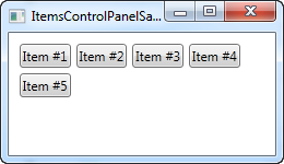 The ItemsControl - The complete WPF tutorial