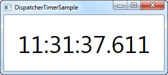 The DispatcherTimer - The complete WPF tutorial