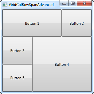 The Grid - Spanning - The complete WPF tutorial