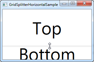 The GridSplitter - The complete WPF tutorial