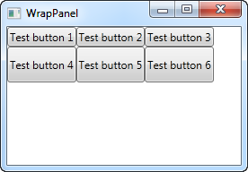 The WrapPanel control - The complete WPF tutorial