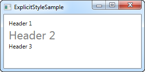 Using WPF styles - The complete WPF tutorial