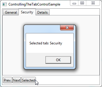 Using the WPF TabControl - The complete WPF tutorial