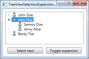 TreeView - Selection/Expansion state - The complete WPF tutorial