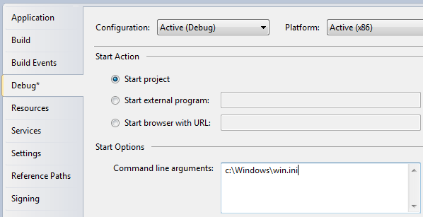 Command-line parameters in WPF - The complete WPF tutorial