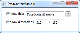 Several data bindings, each using different UpdateSourceTrigger values