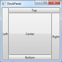 A simple DockPanel