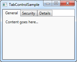 wpf tabcontrol template - using the wpf tabcontrol the complete wpf tutorial